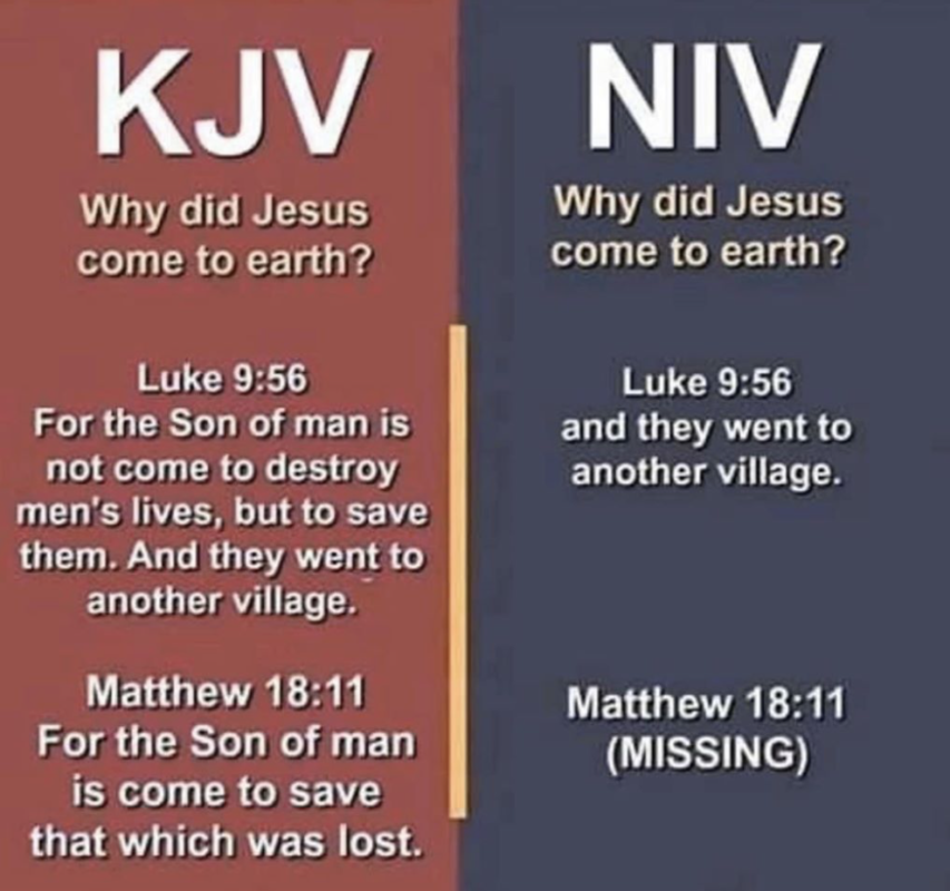 Are verses being removed from the Bible?